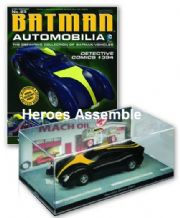 DC Batman Automobilia Collection #23 Detective Comics #394 Batmobile Eaglemoss